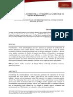 ANÁLISE ECONÔMICA DO DIREITO E AS CONSEQUÊNCIAS AMBIENTAIS DA ATIVIDADE ECONÔMICA