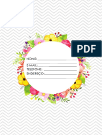 Planner Devocional PDF