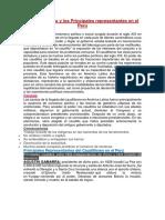 El Caudillismo y Los Principales Representantes en El Perú