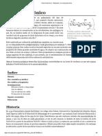 Ácido Hialurónico - Wikipedia, La Enciclopedia Libre