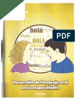 Desarrollo Del Lenguaje Oral en La Etapa Infantil