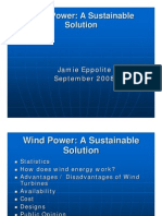 Wind Power Power Point