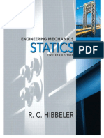 Engineering Mechanics - Statics, R.C. Hibbeler, 12th Edition