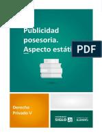 L2_Publicidad Posesoria. Aspecto Estatico