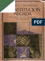Basaglia, Franco - La institución negada.pdf