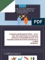 Comunicación asertiva y resolución efectiva de conflictos
