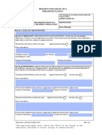 RequestforGrantofaPhilippinePatent March 2015-Editable