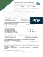 Evaluación Semestral Coficiente Dos de Ciencias Naturales