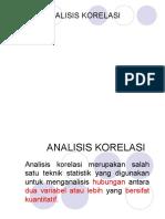 Analisis Korelasi ..r