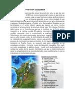 Infraestructura Portuaria en Colombia