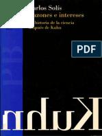 Solis Carlos - Razones E Intereses - La Historia de La Ciencia Despues de Kuhn