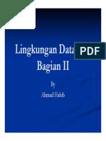 Lingkungan Database Bagian 2