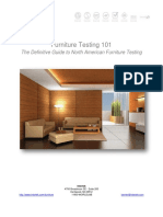 Definitive Guide to North America Furniture Testing