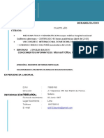 Marco Aurelio Curriculum