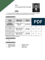 Venkadesh Resume