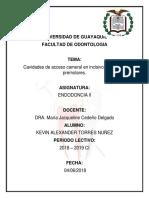 Endodoncia Acceso Cameral