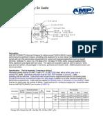 AMP Enhanced Cat 5e Cable Cut Sheet