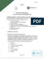 Fomix Distrito Federal Terminos Referencia