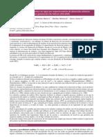 Determinación de arsénico en agua por espectrometría de absorción atómica