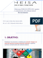 Nom 010 Stps 2014 Reconocimiento Nov PDF
