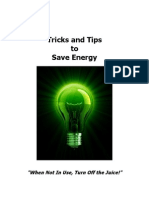 Bonus 2 - Tips & Tricks to Save Energy Malestrom