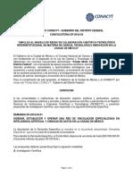 Fomix Distrito Federal Convocatoria 2018-03