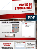Manejo de Calculadora-Informatica