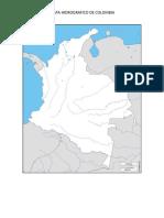 Mapa Hidrográfico de Colombia