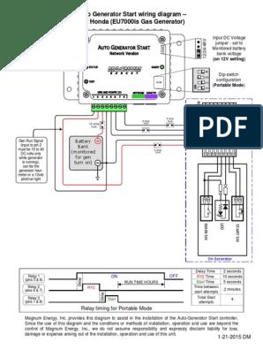 [SCHEMATICS_48EU]  Honda EU70IS Wiring   Fuse (Electrical)   Electric Generator   Free 30-day  Trial   Scribd   Denyo Generator Wiring Diagram      Scribd