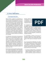Dcn 2009 Primaria Matematica