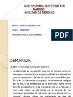 Demanda - Procesal Civil - Canelo Rabanal
