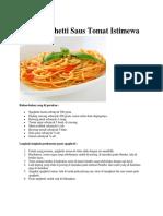 Resep Camilan Berat_Spaghetti