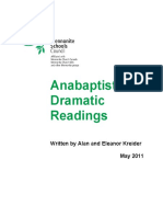 Anabaptist Dramatic Readings - Kreider