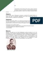 Partidos Politicos en Honduras