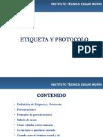 Etiqueta y Protocolo Instituto Edgar Morin