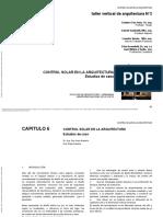 CAP 6Diseño Bioclimático Como Aporte Al Proyecto Arquit..