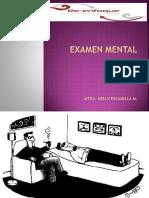 c. Examen Mental