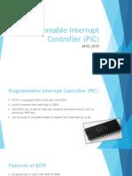 8259 Programmable Interrupt Controller