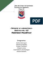 -Informe de laboratorio-Práctica No. VII Fenómenos Magnéticos-2