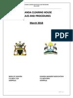 Uganda Clearing House Rule