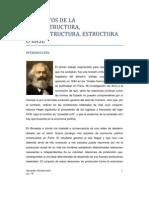 Infraestructura y Superestructura