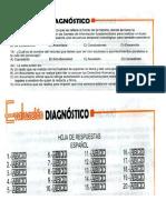 Evaluacion Diagnostica Ts Tercero Español
