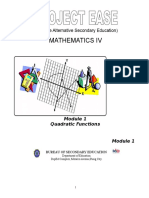 Module 1 - Quadratic Functions.doc