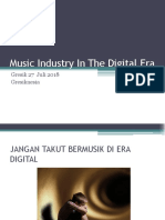 Music Industry in the Digital Era