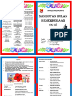 Buku Program Sambutan Kemerdekaan 2018