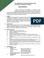 Concurso de Composición y Declamación Poética 2006