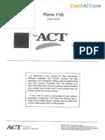 ACT 201304 Form 71G-Www.crackact.com