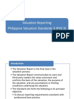 Valuation Reporting