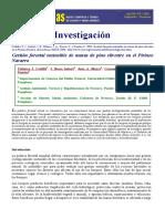 Gestión forestal sostenible de masas de pino silvestre en el Pirineo  Navarro