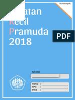 Tugas Catatan Kecil Pramuda (CKP) Prabu 2018